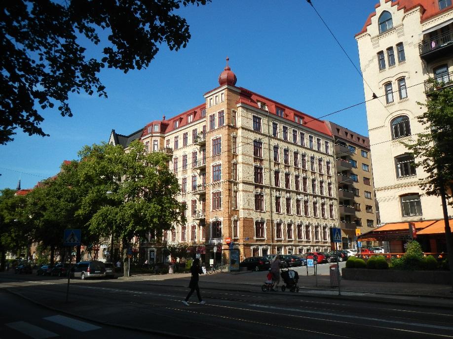 Linnégatan - la plus belle rue de Göteborg