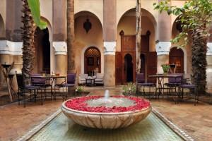 villa nomade - fontaine patio