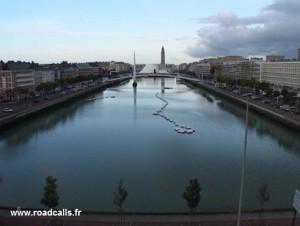 Celle depuis ma chambre au Havre...