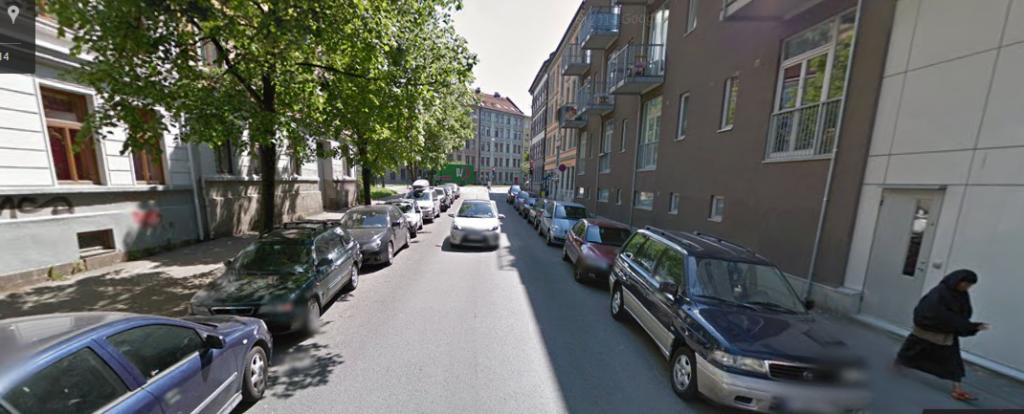 La rue où j'ai failli habiter, dans Grønland, le 'ghetto' d'Oslo.