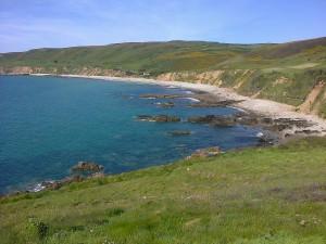 On peut voyager tout près de chez soi : cette baie est à 15km de chez mes parents, en Normandie... et je l'ai découvert il y a quelques mois seulement !
