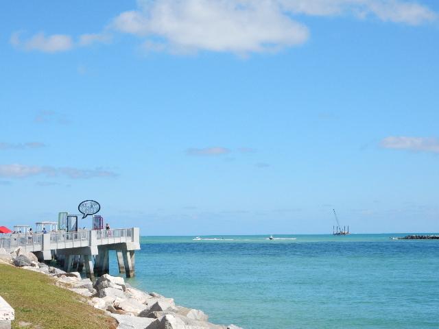 The Pier, la jetée sur pilotis à la pointe de South Beach