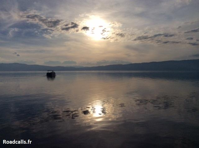 sunset-ohrid