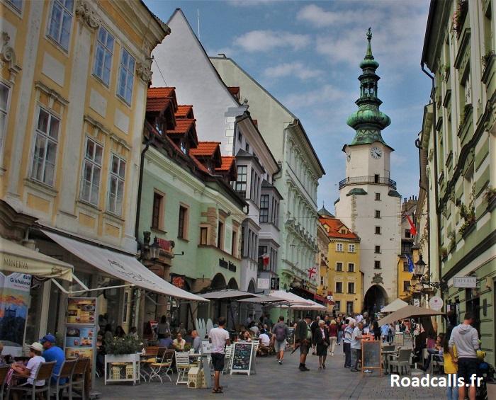 Brancher à Bratislava