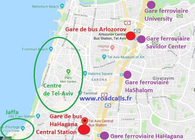 Tel Aviv Jerusalem Karte.Aller De Tel Aviv à Jérusalem Explications Détaillées Ici